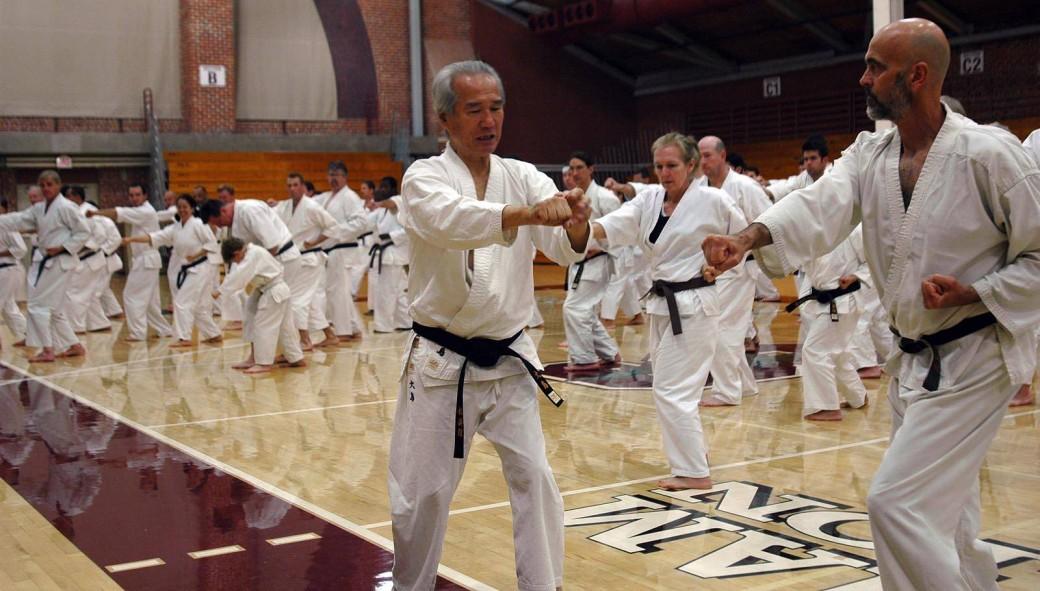 Ohshima Sensei Leading Practice